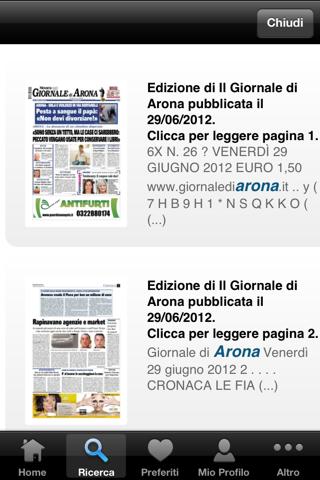 Il Giornale di Arona Digitale - náhled