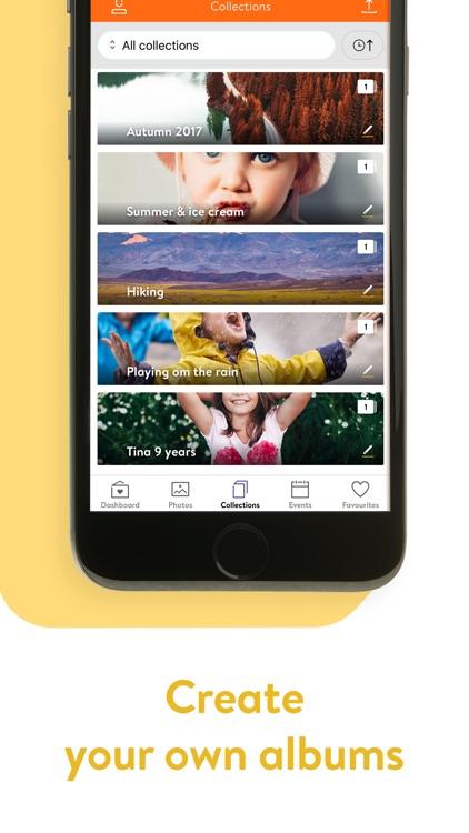 minnebanken - bildelagring screenshot-3