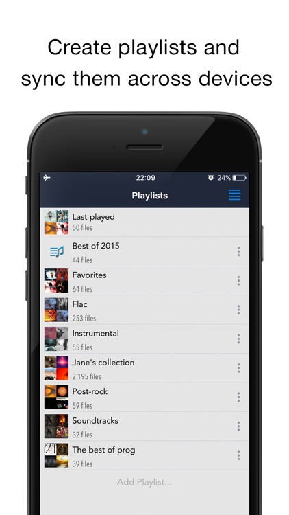 CloudBeats: music player screenshot-4