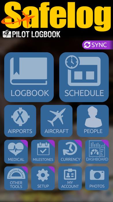Safelog Pilot Logbook review screenshots