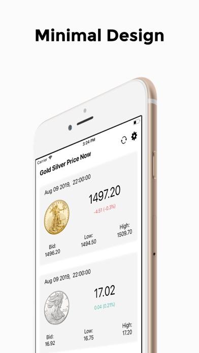 Gold Silver PriceScreenshot of 1