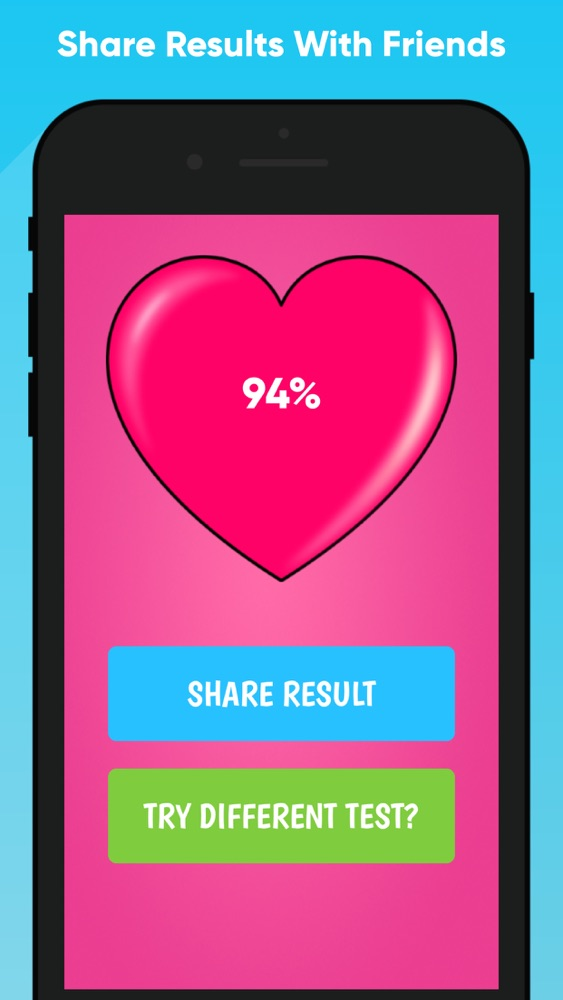 Love Test - Match Tester Quiz App for iPhone - Free