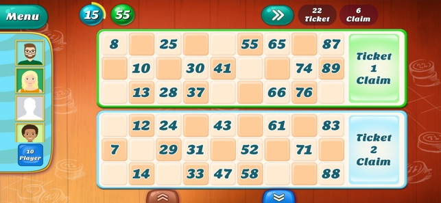 Tambola housie 90 ball bingo game