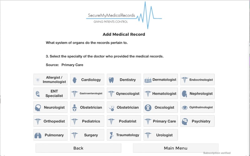 Secure My Med Records for Mac