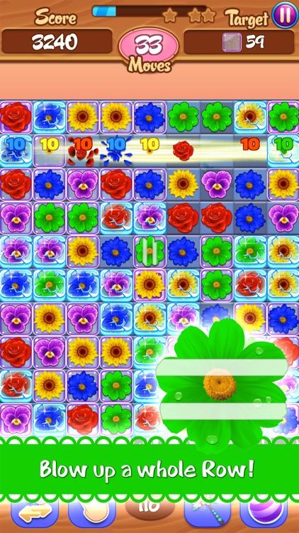 Flower Mania - Match 3 Game screenshot-3