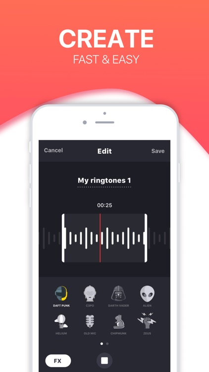 Ringtones HD ∙ Ringtone Maker screenshot-4