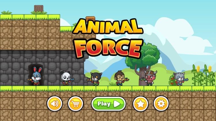 Animal Force: Jump N' Gun Game
