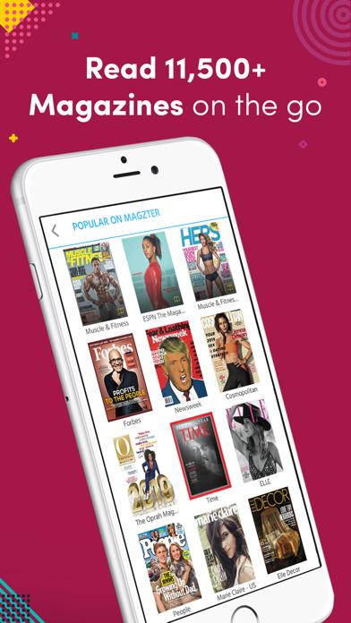Magzter Newsstand Screenshot