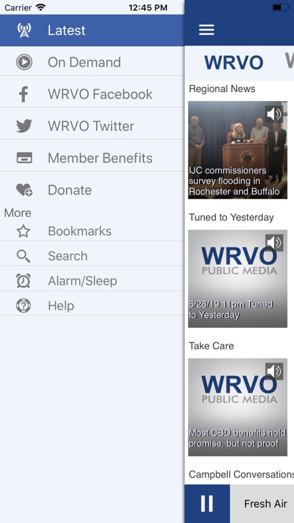 WRVO Public Radio App screenshot-3
