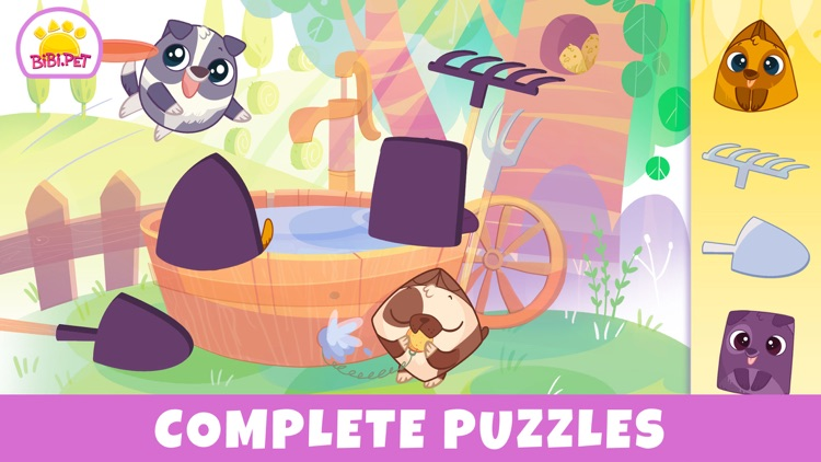 Bibi Farm Kids Games for 2 3 4 screenshot-3