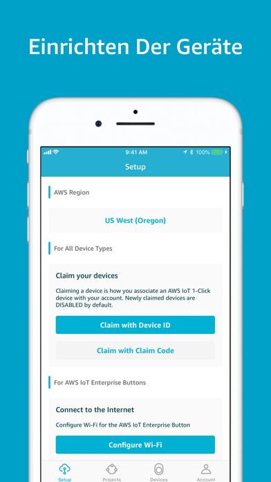 Herunterladen AWS IoT 1-Click für Android