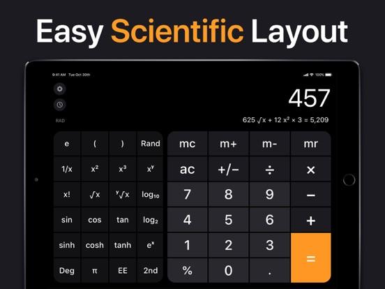 Calculator for iPad screenshot 3