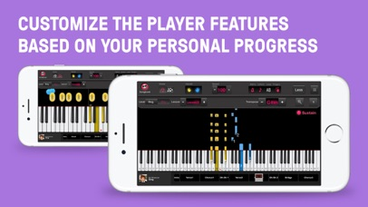 Screenshot for OnlinePianist: Piano Tutorial in United States App Store