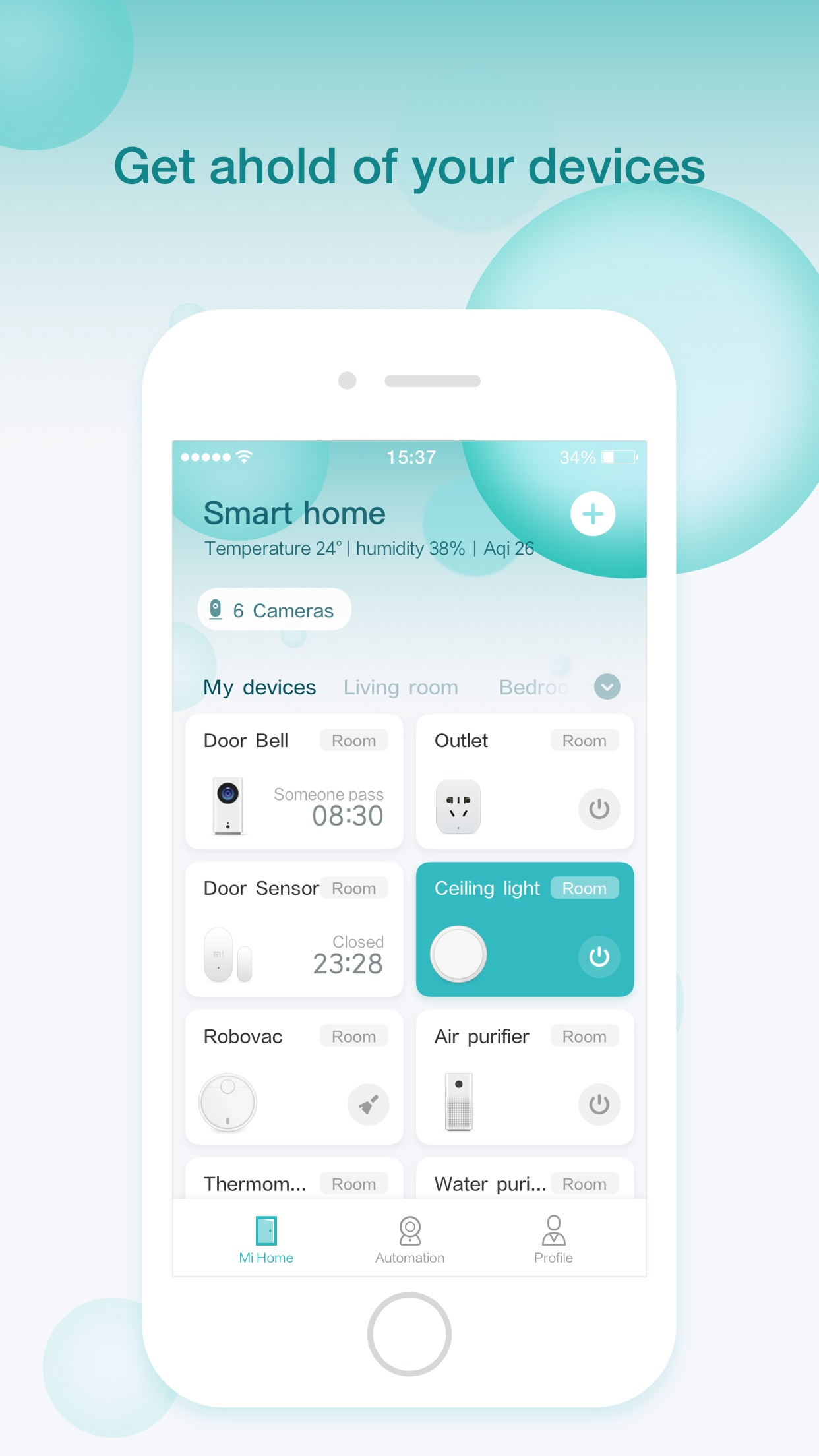 Xiaomi Home - xiaomi smarthome Screenshot