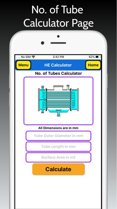 Heat Exchanger Area Pro screenshot 3
