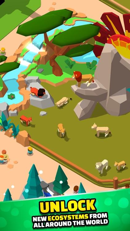 Idle Zoo Tycoon 3D screenshot-4