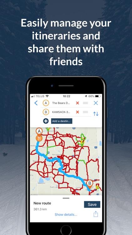 Sask Snowmobile Trails 2019-20 screenshot-3