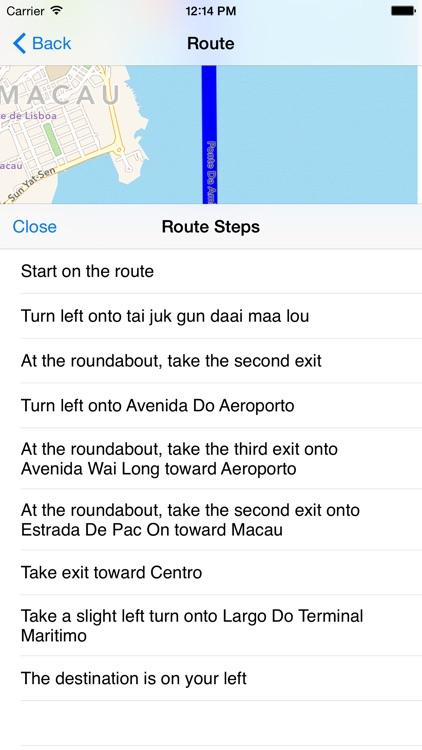 Macau Taxi Fare screenshot-3
