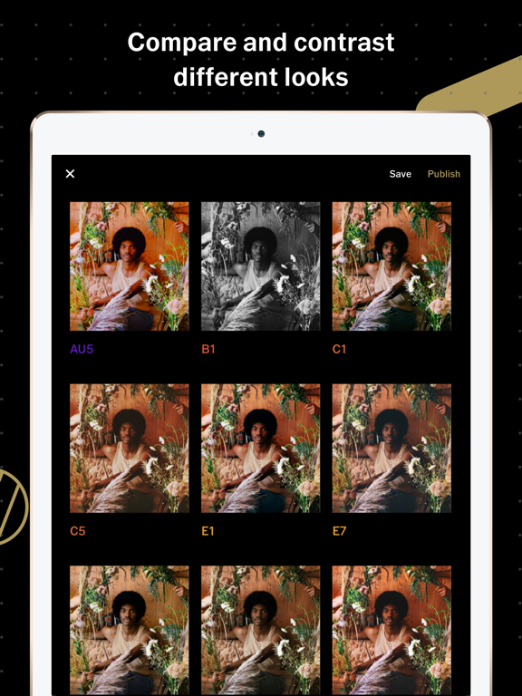 VSCO: Photo & Video Editor Screenshots
