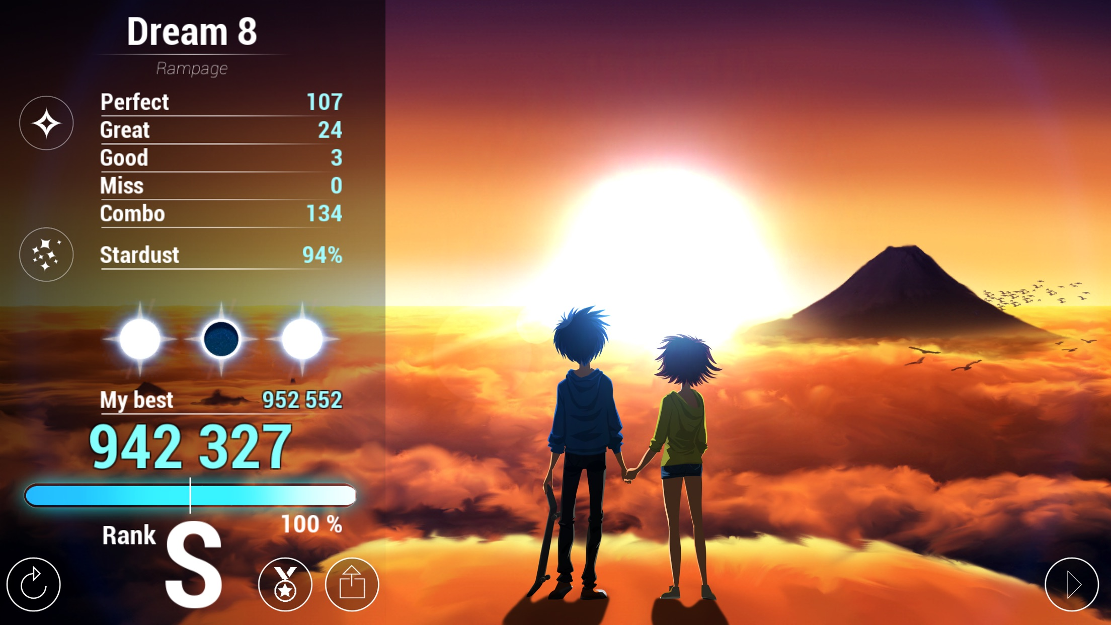 Screenshot do app Lost in Harmony