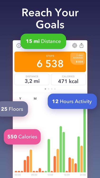Stepz - Step Counter & Tracker