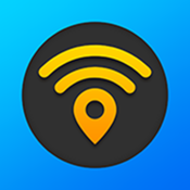WiFi Map — Passwords for free wireless internet access in public places hotspots. Good alternative for roaming. icon
