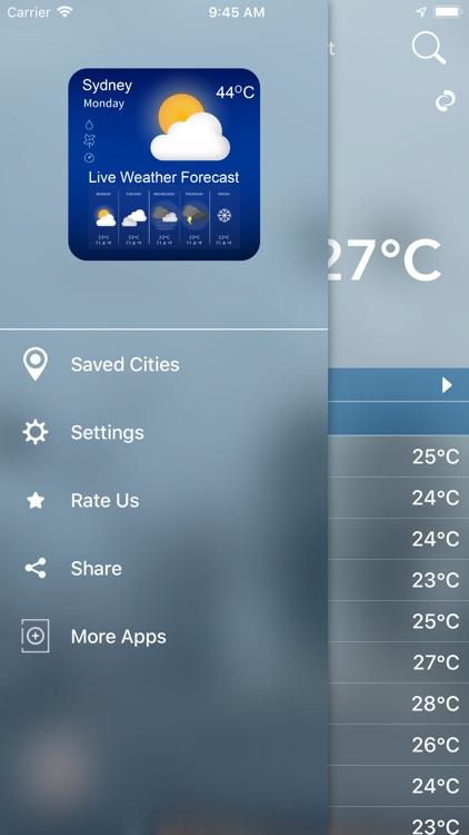 Weather Update Live screenshot-5