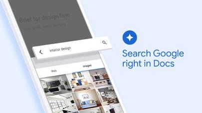 Google Docs: Sync, Edit, Share Screenshot on iOS