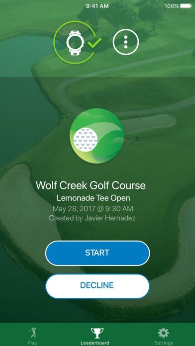 Garmin Golf screenshot 1