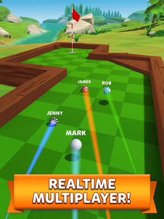 Golf Battle iPad app afbeelding 1