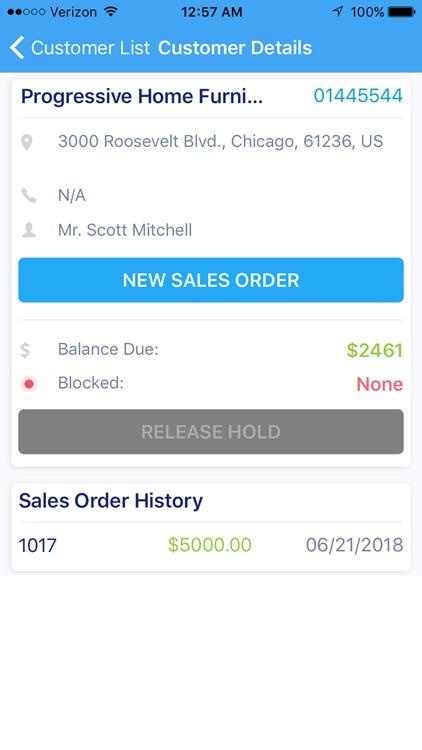 Dynamics NAV Mobile : Captivix screenshot-3