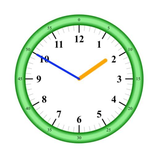 Practice Clock - Speak Time!