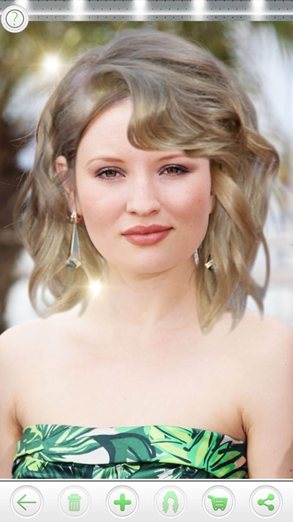 Try On Celebrity Hairstyles screenshot-3