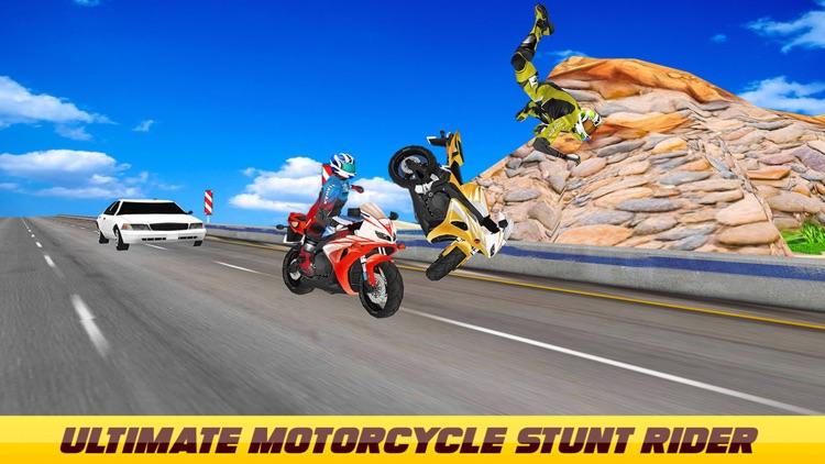 Ultimate Motorcycle Stunt Game screenshot-4