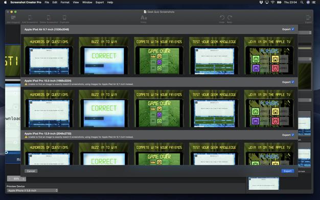 Screenshot Creator app screenshot