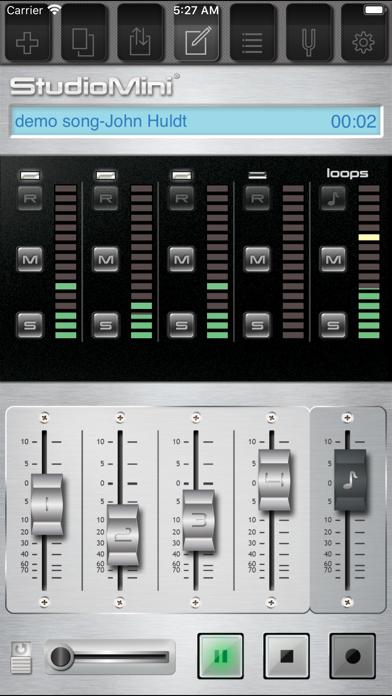 StudioMini® Recording Studio screenshot