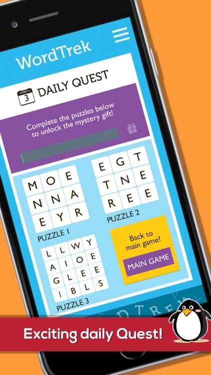 Word Trek - Word Block Puzzles screenshot-3