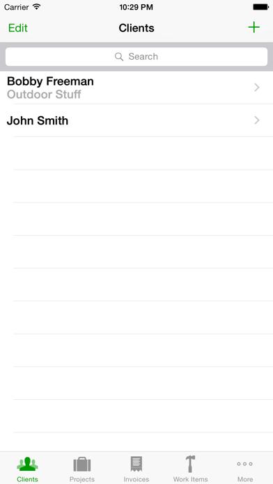 Timewerks: Mobile Billing screenshot one
