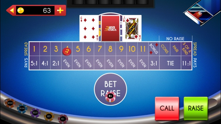 Let It Ride On, 3 Card Poker + screenshot-3