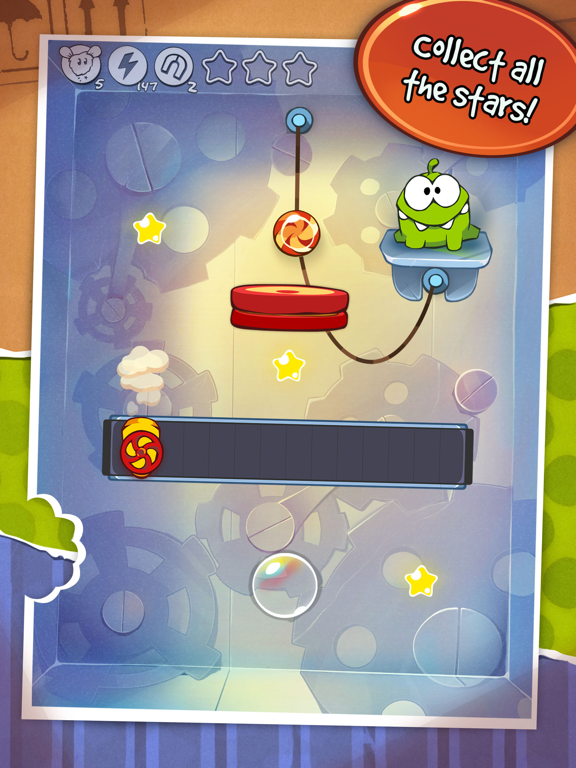 iPad Image of Cut the Rope