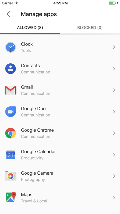Google Family Link for parents Screenshot