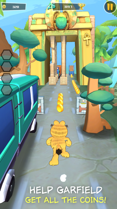 Garfield Run: Road Tour screenshot 1