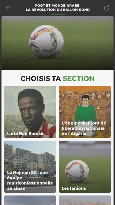 Foot et monde arabe screenshot #1