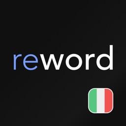 Italian flashcards with ReWord