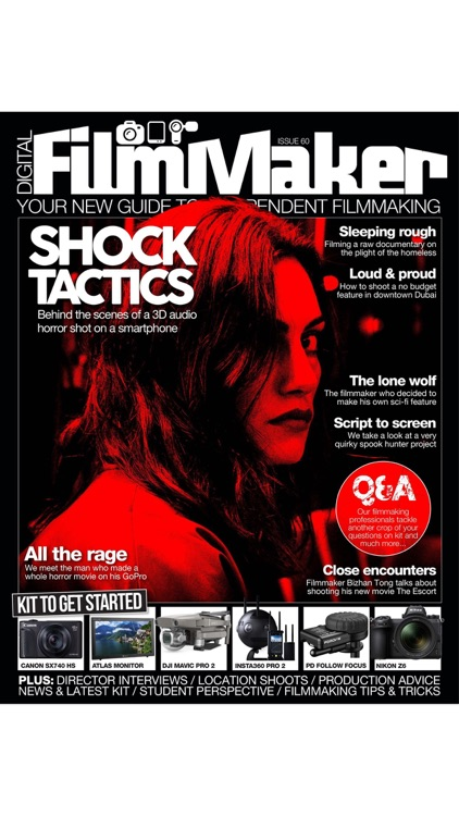 Digital FilmMaker Magazine screenshot-9