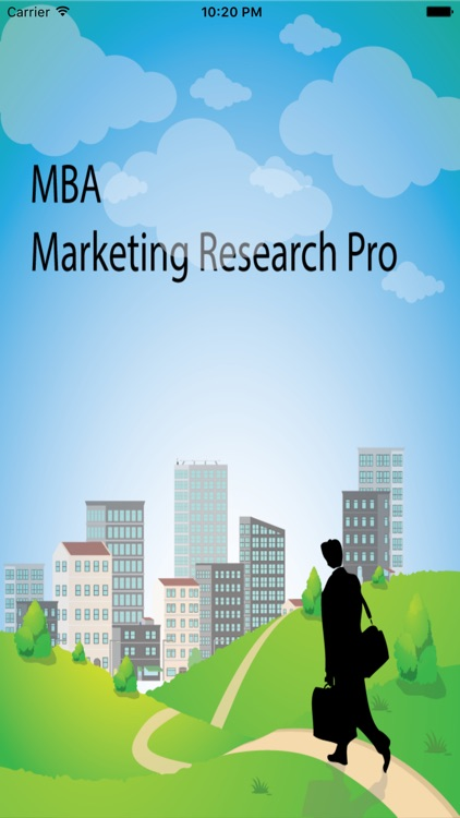 MBA Marketing Research