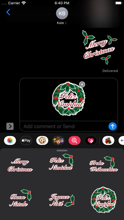 Happy Christmas Stickers screenshot-9