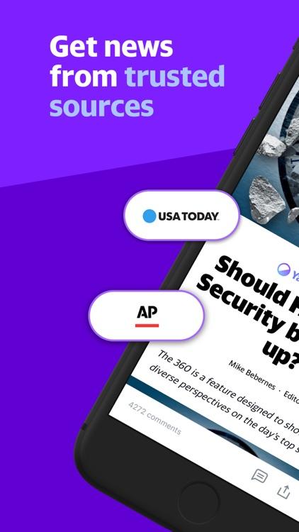 Yahoo News: Live, Breaking, US screenshot-0
