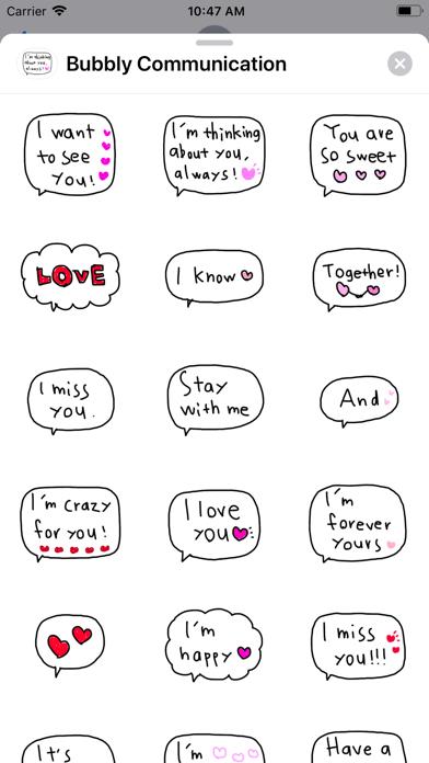 Bubbly Communication screenshot 1