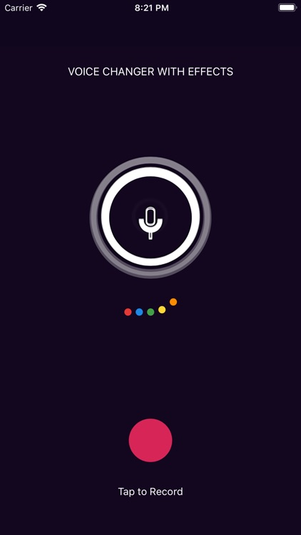 Voice Changer With Effect